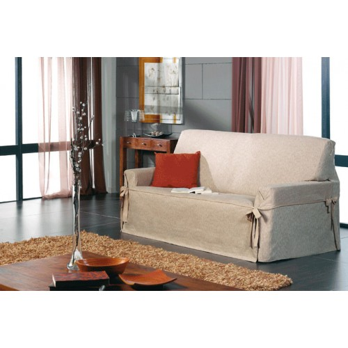 Funda de sof con lazos tejido ventura de una a tres plazas - Fundas de sofa con lazos ...