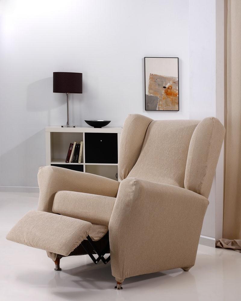 """Funda de sillón relax """"Tabhita"""" color beige"""