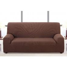 Pack Oferta Duo: Fundas de Sofá bielástica Amanda - Funda de sofá de tres plazas + Funda de sofá dos plazas. Diez colores a elegir