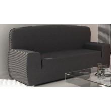 Pack Oferta Duo: Fundas de Sofás elásticas tejido Izaskum - Una funda de sofá de tres Plazas + Una Funda de sofá dos Plazas.Once colores a elegir.