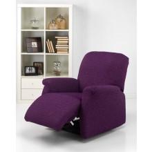 """Fundas de sillón relax tejido """"Natural""""."""