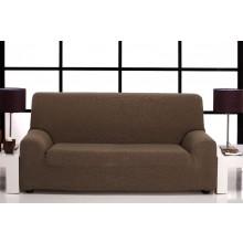 Oferta liquidación: Funda de Sofá elástica dos plazas tejido Tabitha color rojo.
