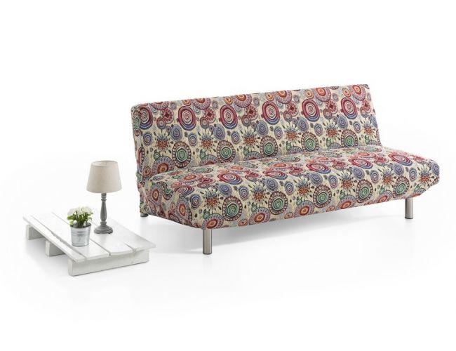 """Funda de sofá elástica """"Asia"""" tipo clic-clac"""