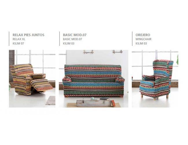 """Funda para sillón relax """"Kilim"""" (Ambiente)"""