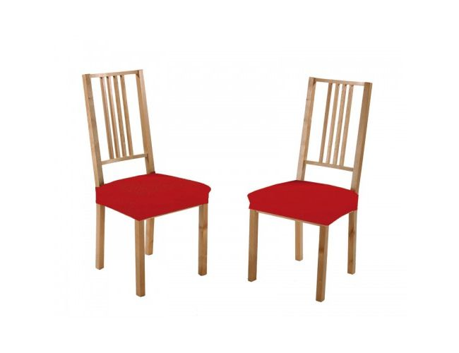 "Pack de dos fundas para asiento de sillas ""Dorina"" (Foto orientativa)"