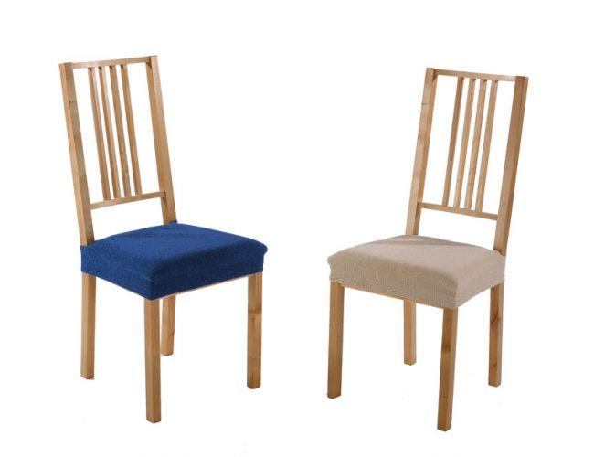 Pack Oferta: 2 fundas de silla elástica tejido Melibea
