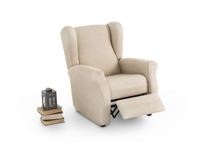 "Funda para sillón relax orejero ""Adelina"""