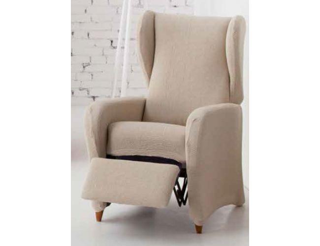 """Funda de sillón relax """"Volcán"""" pie separado."""