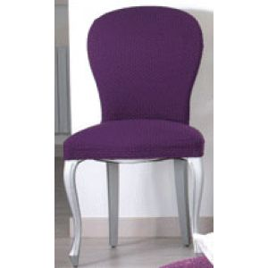Pack Oferta: 2 fundas de silla con respaldo elástica tejido Jennifer