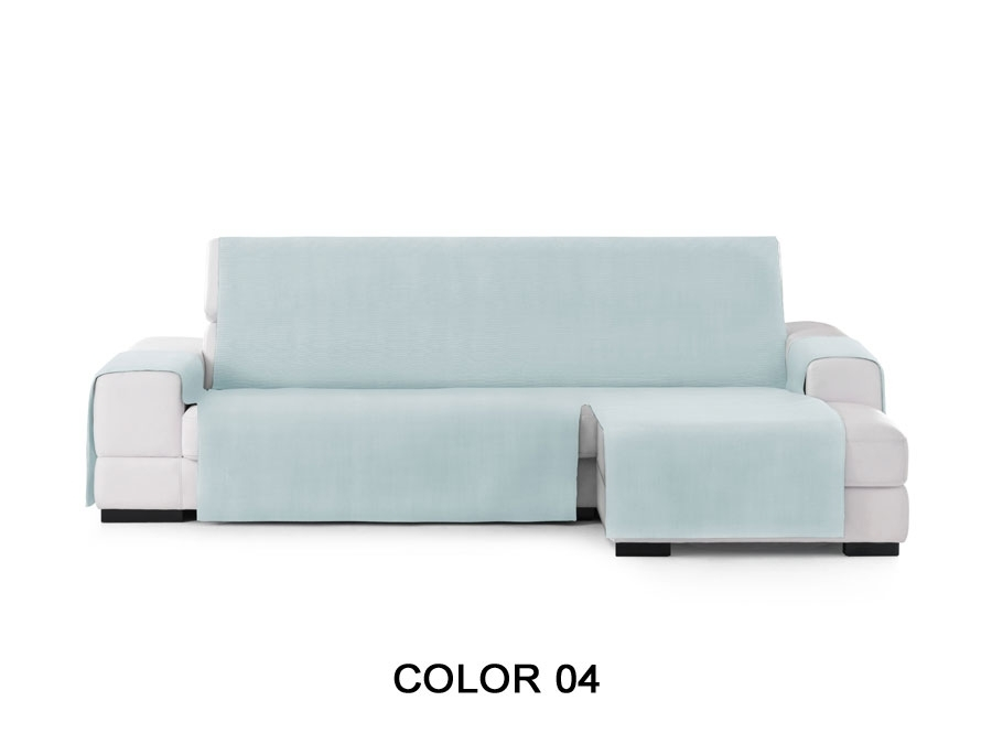 "Medidas Funda de sofá chaiselongue ""Valencia"". Funda cubre sofá chaiselongue color 04"