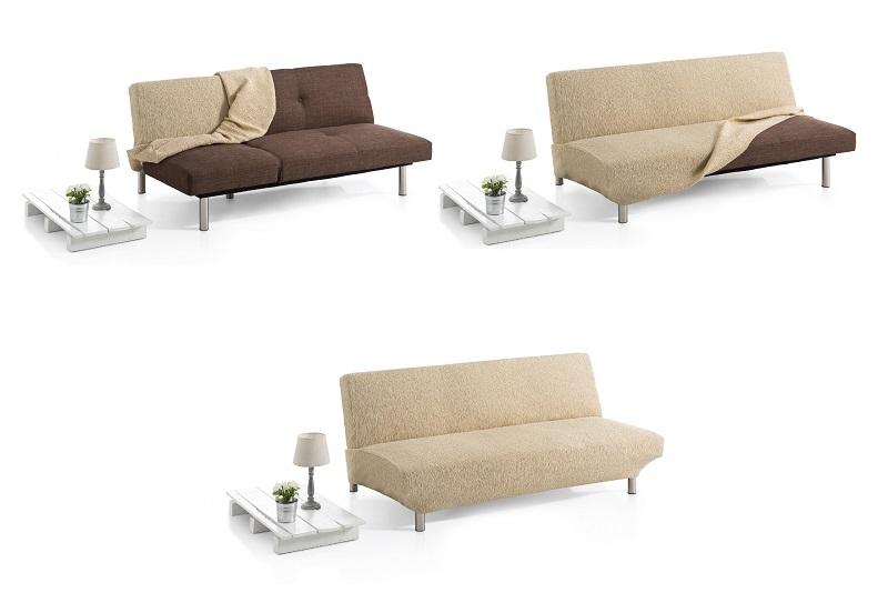 Colocación fundas de sofá tipo clic-clac