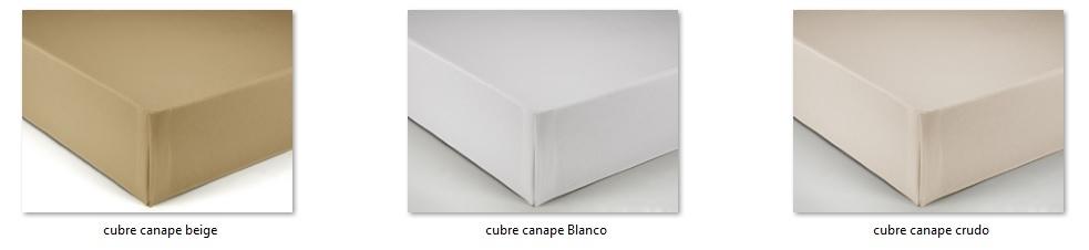 Gama de colores cubre canapé loneta