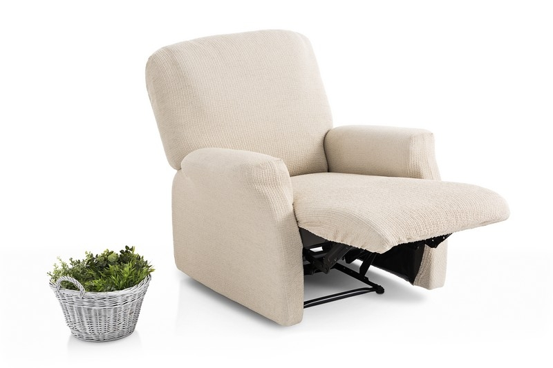 """Funda elástica para sillón relax completo """"Galán"""" (Pie unido)"""