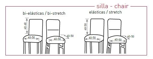 Medidas fundas para sillas