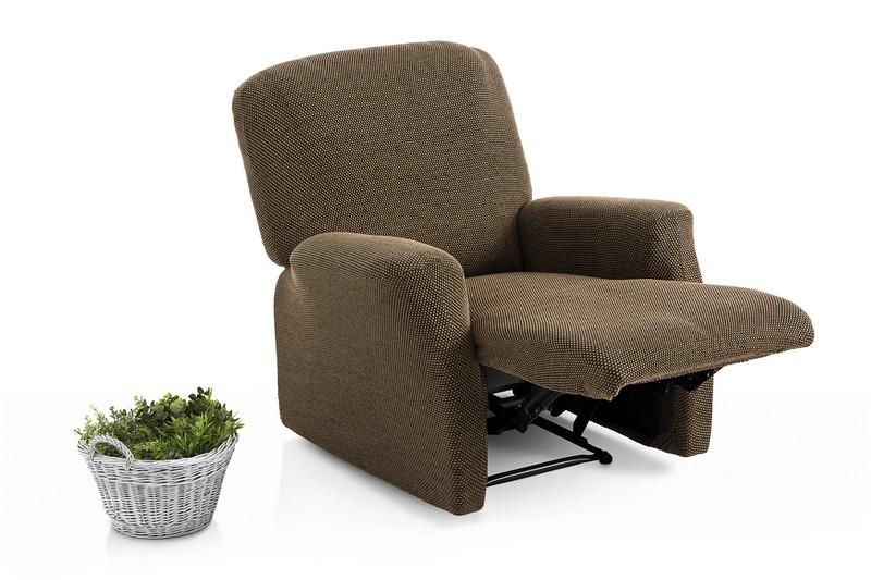 """Fundas elásticas para sillón completo de relax """"Adelina"""" (Pie unido)"""
