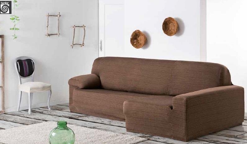 "Funda para sofá chaise-longue ""Agua"""