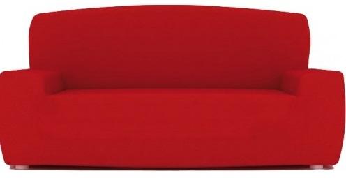 """Funda de sofa cojín separado """"Izaskum"""" en color rojo"""