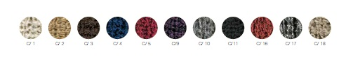 "Colores a elegir tejido ""Noruega"""