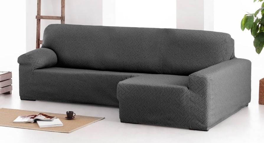 """Funda para sofá chaise-longue """"Poseidón"""" con brazo largo"""