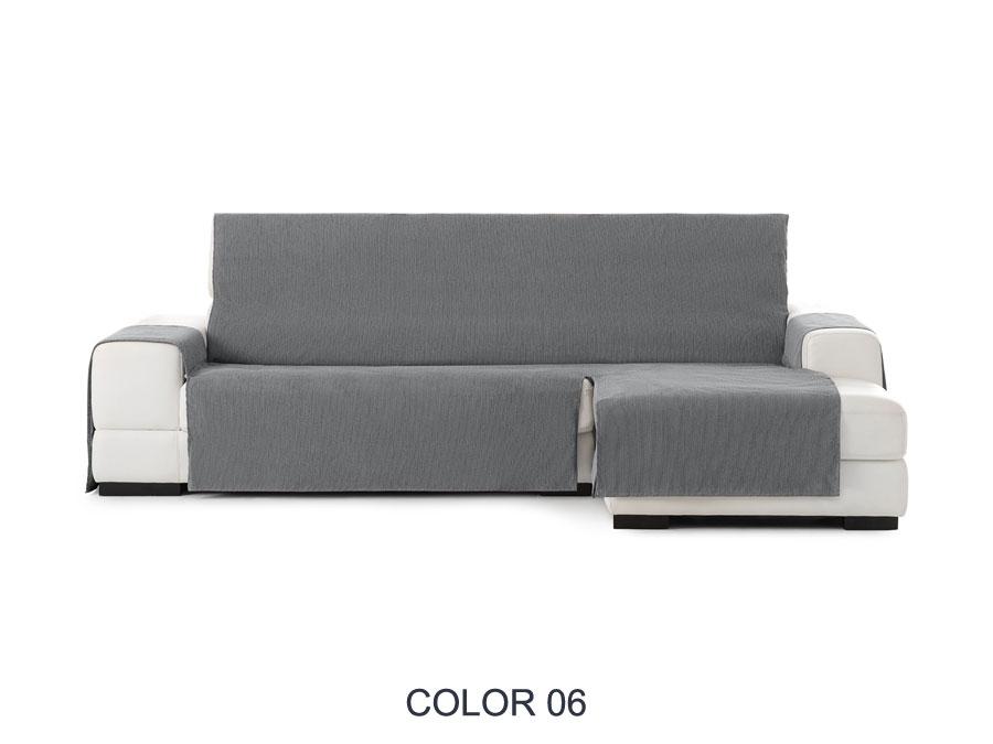 "Funda de sofá chaiselongue ""Drena"". Funda cubre sofá chaiselongue color 06"